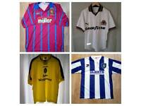 Wanted 1990s West Midlands Football Team Shirts