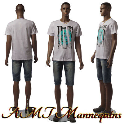 Male African Manikin Full Body Mannequinstand Display Men Manikin-w2-2