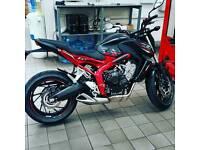 2016 Honda CB650F ABS motorcycle