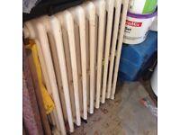Victorian cast iron radiator.