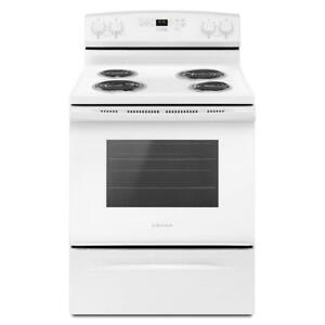 30-Inch Amana® YACR4503SFW Electric Range With Self-Clean Option (BD-1619)