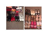Girls clothes and shoes bundle