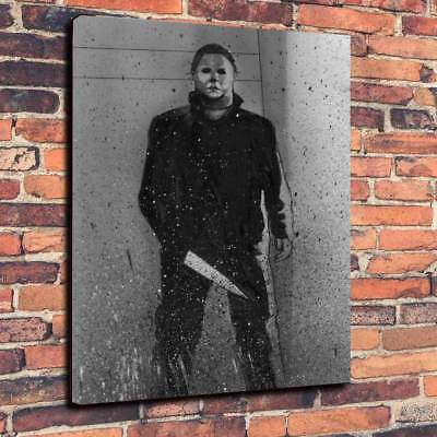Michael Myers Halloween Movie Printed Box Canvas Picture A1.30