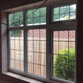 Georgian style double glazed window
