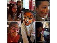 Reliable* experienced*fun face painter