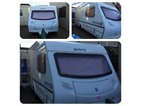 Sprite Major 2005 5 Berth With Brand new Mover , Full Awning and porch Awning and lots of extras