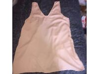 Missguided Backless Shift Top Size 12