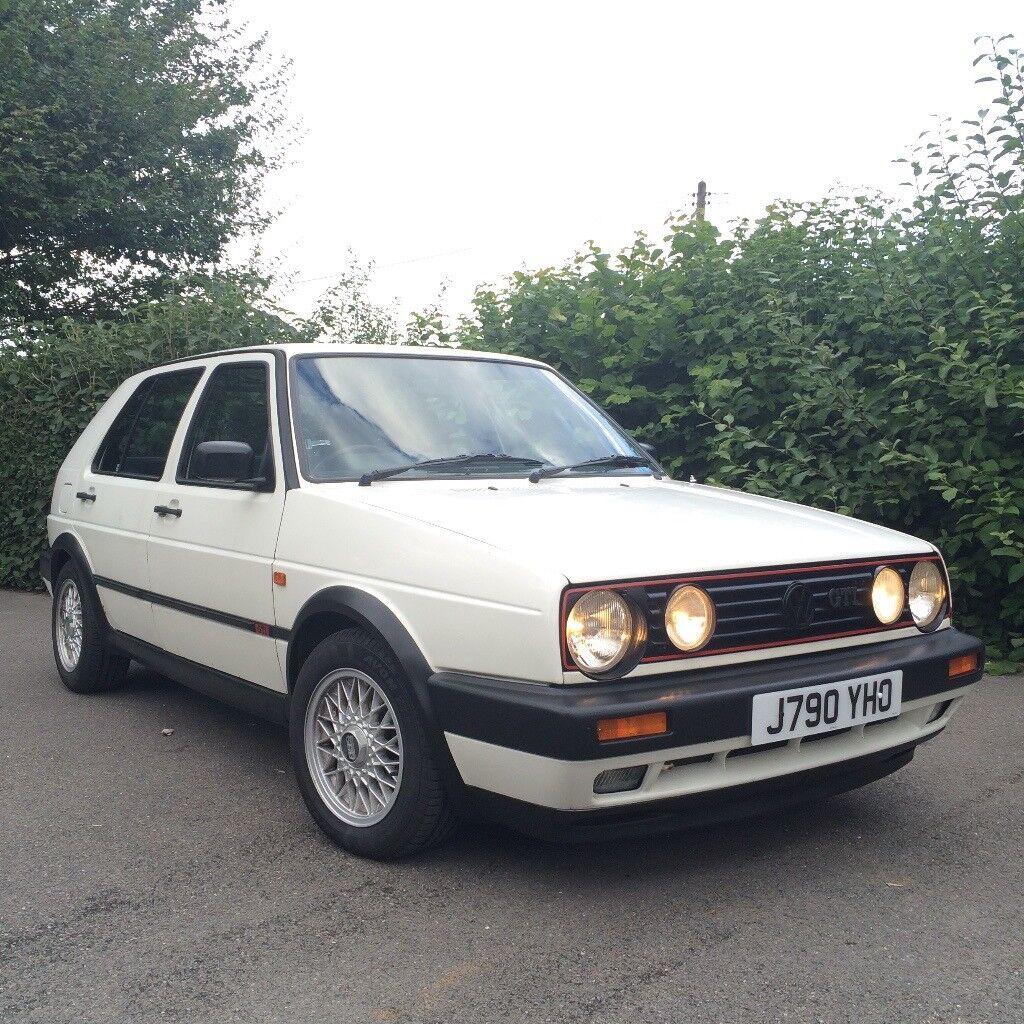 vw golf mk2 gti 8v 1991 j original 5 door alpine white classic in salisbury wiltshire gumtree. Black Bedroom Furniture Sets. Home Design Ideas