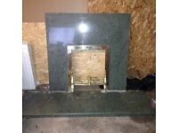 Fireplace surround and Hearth