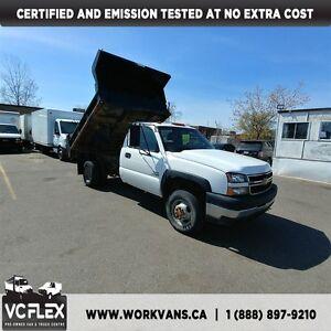 2007 Chevrolet Silverado 3500 8Ft Dump 4x4 6.6L Duramax DSL