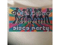 Joes disco hire