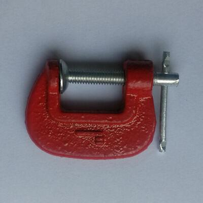 Abrazadera Madera Metal Antideslizante Carpintería Mano Herramientas 2.5cm Acero