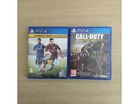 FIFA 15 & Call of Duty Advanced Warfare PS4
