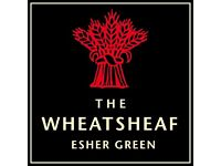 Kitchen Porter (live out) - The Wheatsheaf, Esher - £7.50/hour + GREAT TIPS (around £2.5K/annum)