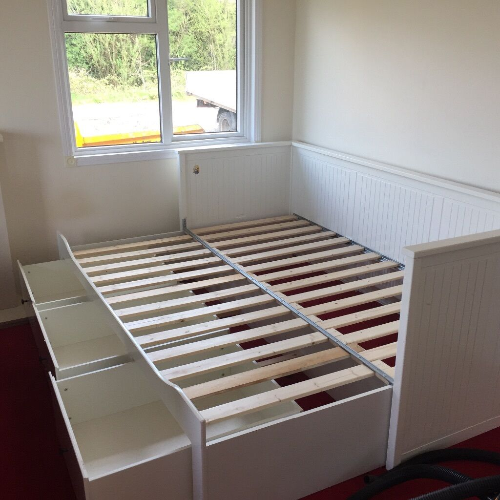 ikea hemnes daybed in ormskirk lancashire gumtree. Black Bedroom Furniture Sets. Home Design Ideas