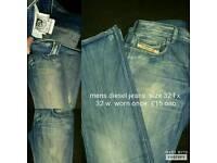 Mens diesel jeans