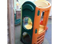 Little Tikes climbing frame with platform and slide