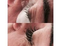 Semi-permanent lashes and beauty treatments