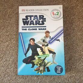 Star Wars - The Clone wars DK Reader Collection box set x10 books