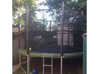 "12ft round Supertramp ""Fun Bouncer"" Trampoline *COST OVER £600 NEW*"