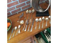 Eight place cutlery setting