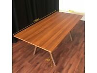 Ikea Dining Table - Great condition, walnut colour, seats 6
