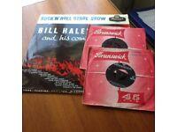Bill Haley 12inch LP & 2 single 45rpm