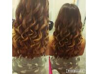 Hair extension fitting and styling