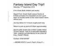 Fantasy Island Day Trip!!