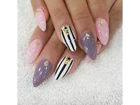 acrylic nails, eyelash treatments PRETTY IN INK BEAUTY BAR
