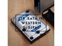 "1TB Western Digital 3.5"" SATA III Caviar Blue Desktop Hard Drive"