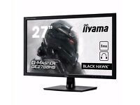 gaming monitor, iiyama G-MASTER Black Hawk GE2788HS-B1 Monitor 27 inch, TN Panel, 1920x1080, 1ms