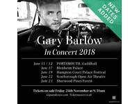 Excellent Gary Barlow Tickets Blenheim Palace 17/6/18