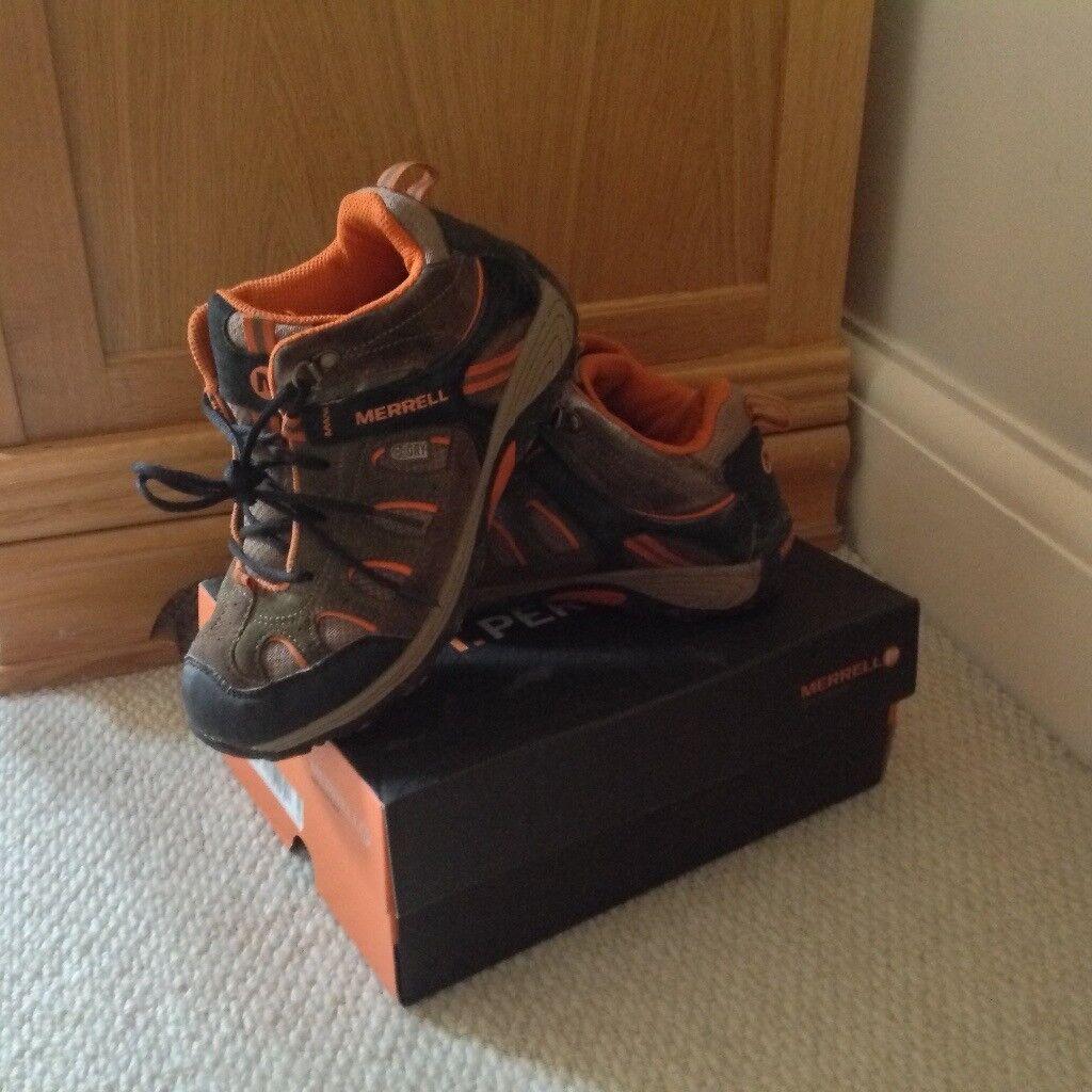 Merrell Waterproof Kids Walking Boots UK Size 2