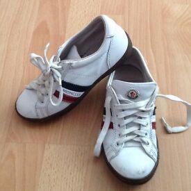 Moncler boys designer shoes size 13 junior