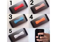ELASTIC MOBILE PHONE GRIP HOLDER / 5 COLOURS TO CHOOSE FROM