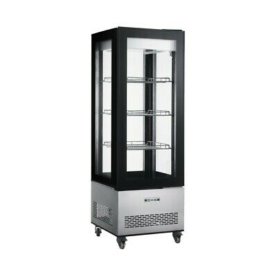 Floor Standing Glass Sided Display Cooler - All Glass Merchandiser
