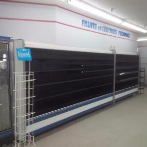 Dairy / Produce Case - Arneg Grab n' Go Display Merchandiser