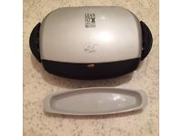 George Foreman grill model 12617, NEW