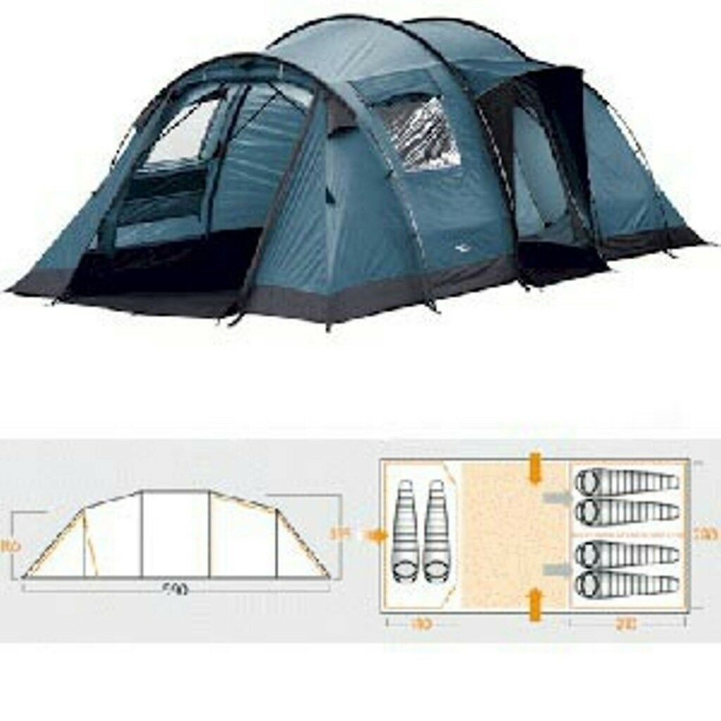 Vango Tigris 600 Tent With Vango Carpet And Vango