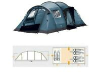 Vango Tigris 600 tent with Vango Carpet and Vango footprint