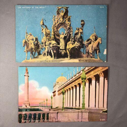 1915 PANAMA PACIFIC INTERNATIONAL EXPOSITION San Francisco Postcard ANTIQUE