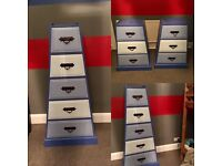 Chest of Drawers x3 Would suit boy's bedroom