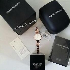 EMPORIO ARMANI LADIES WATCH - AR1773 12 MONTHS WARRANTY