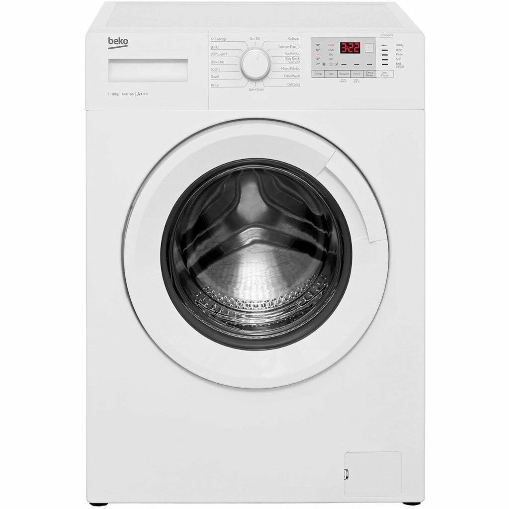 New-Ex-displayed Beko WTG921B2W 9Kg Washing Machine with 1200 rpm Delivered to the Northwest