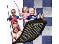 Die-schaukel.de multi child swing with aluminium frame