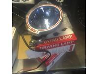 """2x BNIB Britax Driving Lamp 6"""" Blue lense"""