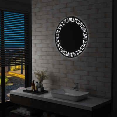 vidaXL Espejo de Baño con LED 70 cm de Aumento Maquillaje Luces...
