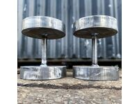 Steel Dumbbells 6kg up to 85kg !!! Heavy weights - unbeatable prices