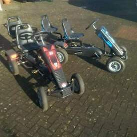 2 x gorilla pedal go-carts 2 seaters